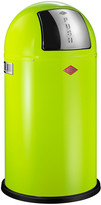 Wesco Pushboy Bin - 50L - Lime Green