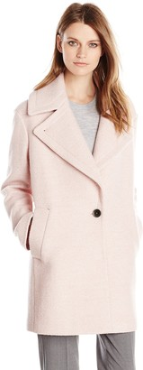 Kensie Women's Wool Cocoon Coat
