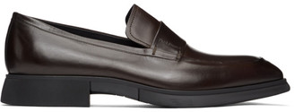 Paul Stuart Brown Marston Penny Loafers