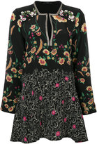 Etro floral tunic blouse
