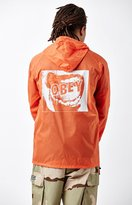 Obey Screamer Quarter Zip Anorak Jacket