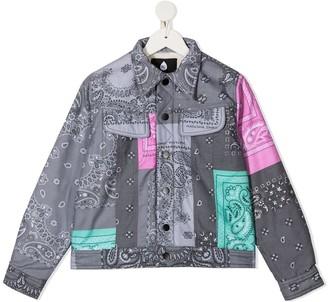 DUOltd Bandana Patchwork Jacket