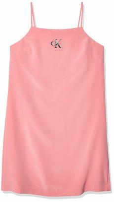 Calvin Klein Jeans Women's Monogram Slip Dress
