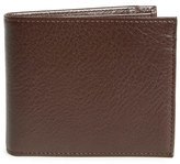 Johnston & Murphy Men's Leather Wallet - Brown