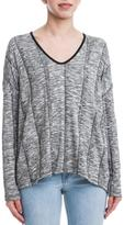 Lush Charcoal V-Neck Sweater