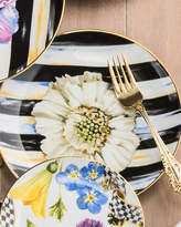 Mackenzie Childs MacKenzie-Childs The Bride Thistle & Bee Salad Plate