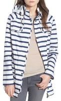 Barbour Women's Trevose Stripe Waterproof Jacket