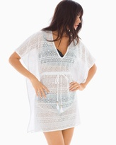 Soma Intimates Crochet Tunic Swim Cover Up