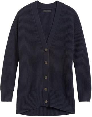 Banana Republic JAPAN EXCLUSIVE Oversized Italian-Merino Blend Cardigan Sweater