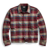 Ralph Lauren Plaid Wool-Cashmere Jacket