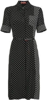 Altuzarra Polka Dot Belted Dress