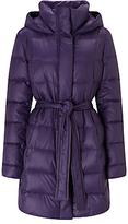 HUGO BOSS BOSS Orange Oluna Quilted Coat, Dark Purple