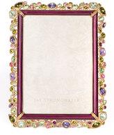 "Jay Strongwater Leslie Bejeweled Frame, 5"" x 7"""