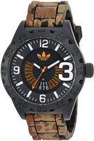 adidas Men's 'Newburgh' Quartz Rubber and Silicone Casual Watch, Color: (Model: ADH3192)