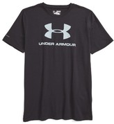Under Armour Boy's Sportstyle Logo Heatgear T-Shirt