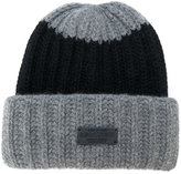 DSQUARED2 ribbed beanie hat - women - Angora/Wool - One Size