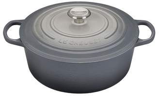 Le Creuset NEW! Limited Time Grey Ombre 7.25 qt. Signature Round Dutch Oven
