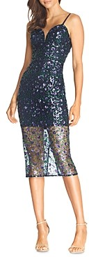 Dress the Population Addison Sequin Midi Dress