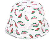 Stella McCartney Dolores watermelon print hat - kids - Cotton - 48 cm