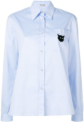 Miu Miu long sleeved shirt