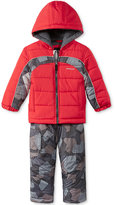 London Fog 2-Pc. Camo-Print Snowsuit, Toddler Boys (2T-5T)