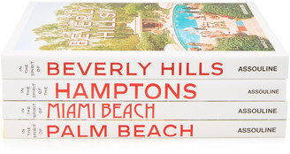 Assouline Palm Beach, Miami Beach, Hamptons, Beverly Hills Hardcover B