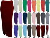 Baleza Women's Jersey Long Gipsy Gather Side Cut Out Maxi Skirt M/L 12-14