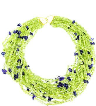 Arthur Marder Fine Jewelry Silver Gemstone Necklace