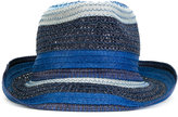 Etro contrast-tone hat