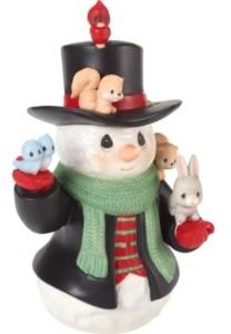Precious Moments 9th Annual Snowman Series Christmas Cheer For All Figurine