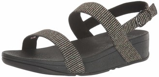 FitFlop Women's Lottie Glitter Stripe Back-Strap Sandals