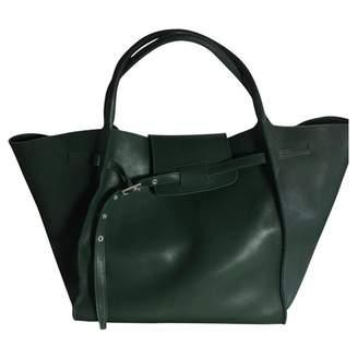Celine Big Bag Green Leather Handbags