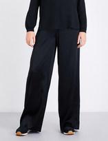 A.L.C. Kiesley wide-leg satin trousers