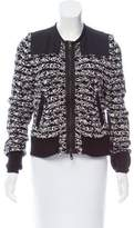 Rag & Bone Long Sleeve Knit Jacket