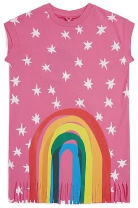 Stella McCartney Fringed Rainbow Dress