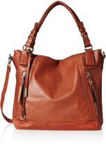 MG Collection Melika Casual Slouchy Hobo Shopper Shoulder Bag
