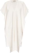 Maison Rabih Kayrouz V-neck silk-blend dress