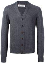 Brunello Cucinelli V-neck cardigan - men - Cashmere/Wool - 48