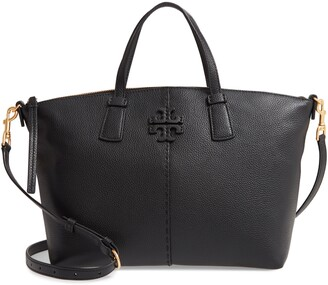 Tory Burch McGraw Leather Satchel