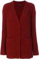 Odeeh ribbed cardigan - women - Virgin Wool - 38