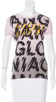 Vivienne Westwood Text Print Short Sleeve T-Shirt