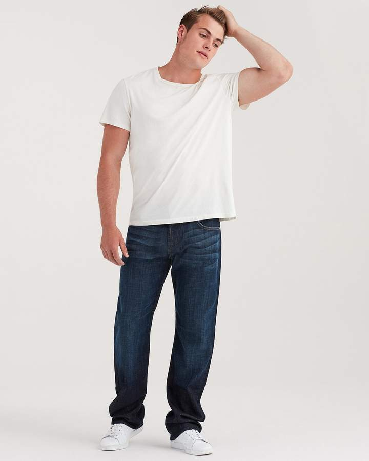 7 For All Mankind Austyn Relaxed Straight in Los Angeles Dark