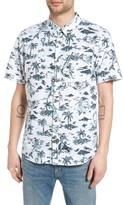 Vans Men's Strange Tides Print Woven Shirt