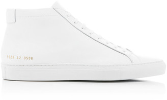 Common Projects Achilles Leather High-Top Sneakers