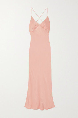 The Line By K Florence Satin Dress - Pink
