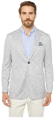 Vince Camuto Stretch Performance Sport Coat (Space Dye Grey) Men's Clothing