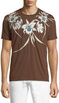 Valentino Floral-Graphic T-Shirt