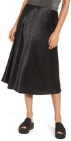 Love, Fire Women's Satin Midi Skirt