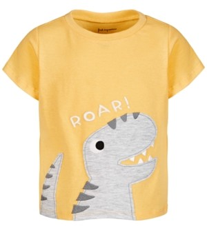 First Impressions Baby Boys Roar Dino Cotton T-Shirt, Created for Macy's