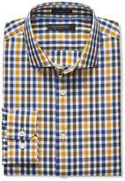 Banana Republic Camden-Fit Non-Iron Small Tri-Tone Gingham Shirt